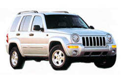 Стекло на Jeep Cherokee;Liberty 2002 - 2007