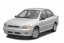 Стекло на KIA Rio 2000-2005 Sedan