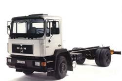 Стекло на MAN F90 sm 1986-