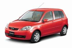 Стекло на Mazda 2 2002-2007