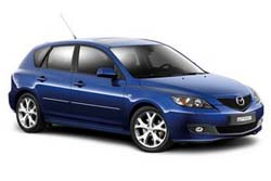 Стекло на Mazda 3 2003 - 2009 Hatch