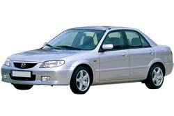 Стекло на Mazda 323 1998 - 2003 Sedan