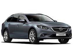 Стекло на Mazda 6 2013- Combi