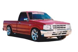 Стекло на Mazda B2200;B2500;B2600 1985 - 1998