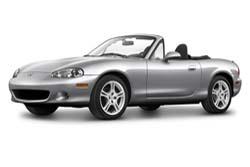 Стекло на Mazda MX5 1989-2005