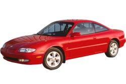 Стекло на Mazda MX6 1992-1997