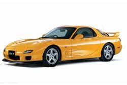 Стекло на Mazda RX7 1992 - 2002