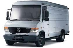 Стекло на Mercedes Vario (low) 1996 -