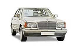 Стекло на Mercedes W126 S 1979-1991