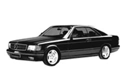 Стекло на Mercedes W126 S 1981 - 1992 Coupe