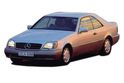 Стекло на Mercedes W140 S  1992-1999 Coupe