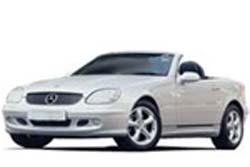 Стекло на Mercedes W170 SLK 1996 - 2004 Cabrio