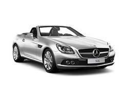 Стекло на Mercedes W172 SLK 2011- Cabrio