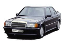 Стекло на Mercedes W201 C 1982 - 1984