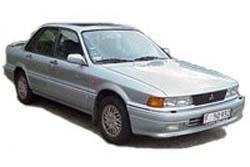 Стекло на Mitsubishi Galant E30 1987 - 1992