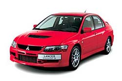 Стекло на Mitsubishi Lancer Evo 2003-2007