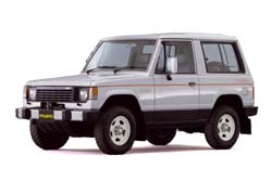 Стекло на Mitsubishi Pajero 1982 - 1990