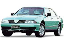 Стекло на Mitsubishi Sigma 1990-1996 Sedan