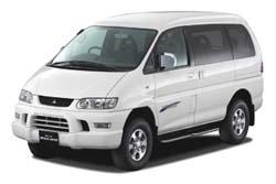 Стекло на Mitsubishi Space Gear;Delica 1995 - 2007