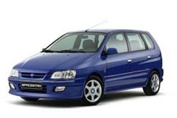 Стекло на Mitsubishi Space Wagon 1997-2003
