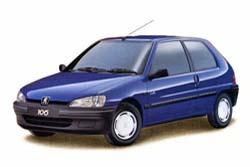 Стекло на Peugeot 106 1991 - 2004