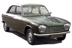 Стекло на Peugeot 204;304 1969 - 1977 Sedan