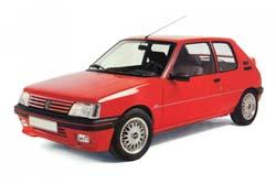 Стекло на Peugeot 205 1983 - 1998 _2