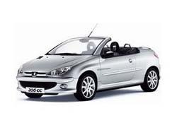 Стекло на Peugeot 206 СС 2000 - 2007