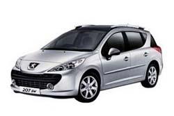 Стекло на Peugeot 207 2006 - 2011 Combi