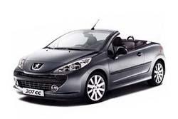 Стекло на Peugeot 207 CC 2007 - 2011_1