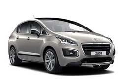 Стекло на Peugeot 3008 2009 -