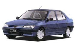 Стекло на Peugeot 306 1993 - 2002 Sedan