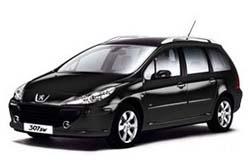 Стекло на Peugeot 307 2001 - 2008 Combi