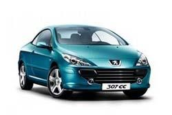 Стекло на Peugeot 307 CC 2003 - 2008