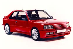 Стекло на Peugeot 309 1985 - 1993