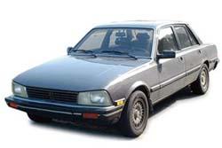 Стекло на Peugeot 505 1979 - 1992 Sedan