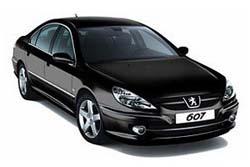 Стекло на Peugeot 607 2000 - 2010