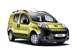 Стекло на Peugeot Bipper 2007 -