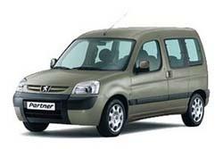 Стекло на Peugeot Partner 1996 - 2007