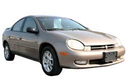 Стекло на Plymouth Neon 2000-2005