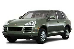 Стекло на Porsche Cayenne 2002 - 2009