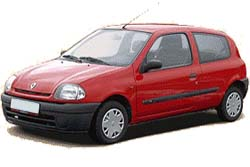 Стекло на Renault Clio;Symbol;Thalia 1998 - 2006 Hatch
