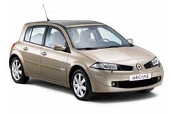 Стекло на Renault Megane 2002-2008 Hatch