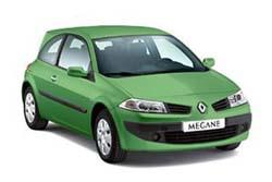 Стекло на Renault Megane 2002-2008