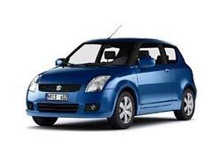Стекло на Suzuki Swift 2005 - 2010 3d
