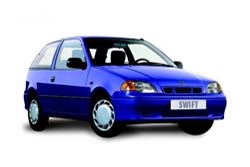 Стекло на Suzuki Swift (3d) 1989 - 2004