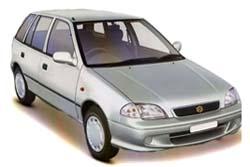 Стекло на Suzuki Swift (5d) 1989 - 2004 Hatch_1