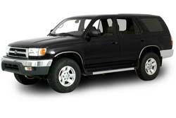 Стекло на Toyota 4-Runner 1996 - 2002