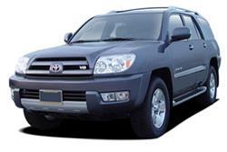 Стекло на Toyota 4-Runner 2003 - 2009