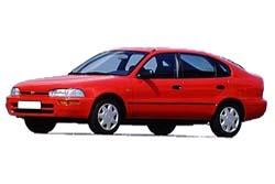 Стекло на Toyota Corolla E100 1991 - 1997 Lift_1